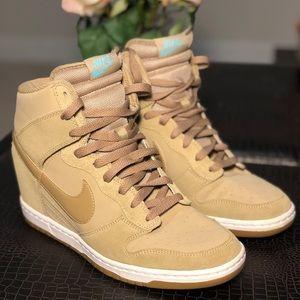 Size 11 Brand New Nike Wedge Hi-Tops